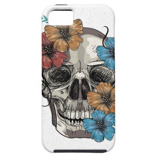 Beautiful funny dead Mexican Women head Skull iPhone 5 Covers