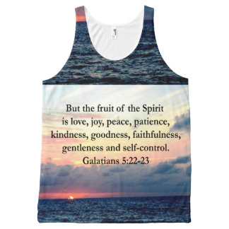 BEAUTIFUL GALATIANS FRUITS OF THE SPIRIT All-Over PRINT TANK TOP