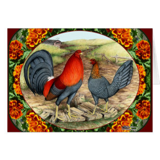 Beautiful Game Fowl Card