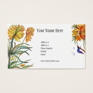 Beautiful Garden of Flowers Card