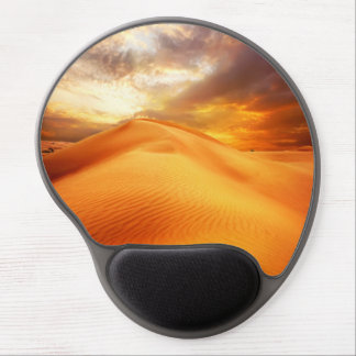 Beautiful Gel Mousepad with nature desert motive