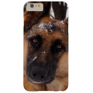 Beautiful German Shepherd in the Snow Barely There iPhone 6 Plus Case