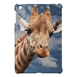 BEAUTIFUL GIRAFFE FACE, SWEET CUTE FACE iPad MINI COVER