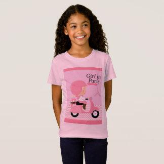 Beautiful Girl in Paris T-Shirt