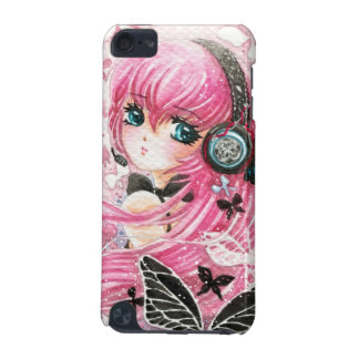 Beautiful girl with butterflies - Ipod Touch case