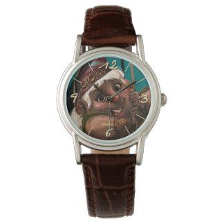 Beautiful Gnomo Clock Watch