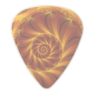 Beautiful Golden Spiral Fractal Guitar Pick Acetal Guitar Pick