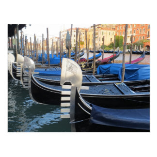 Beautiful gondolas! postcard