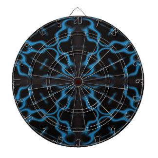 Beautiful Gothic Abstract Design Dartboard