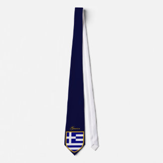 Beautiful Greece Flag Tie