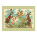 Beautiful Green Easter Egg Post Cards