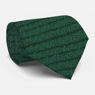 Beautiful Green Textured Modern Designer tie