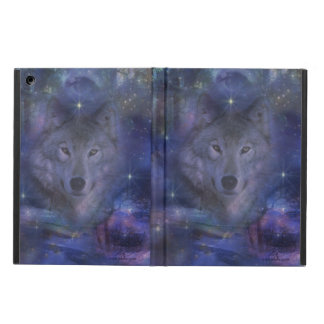 Beautiful Grey Wolf in the Moonlight iPad Air Case