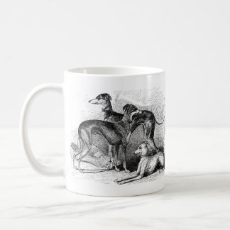 Beautiful Greyhounds Basic White Mug