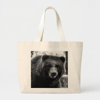 Beautiful Grizzly Bear Photo Large Tote Bag