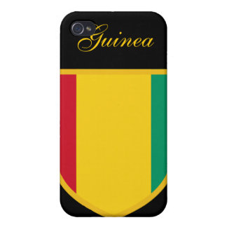 Beautiful Guinea Flag iPhone 4/4S Cases
