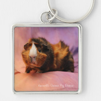 Beautiful Guinea Pig Keychain