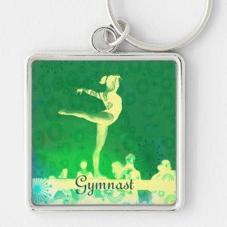 Beautiful Gymnast key chain