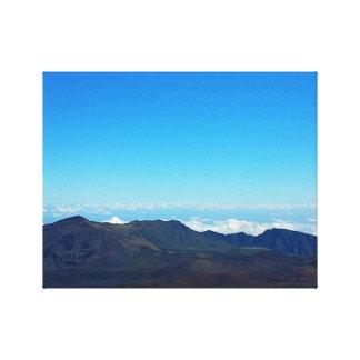 Beautiful Haleakala Crater, Maui,HI Wrapped Canvas Stretched Canvas Print