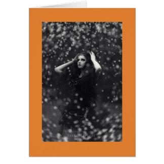 Beautiful Halloween Witch Card