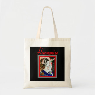 Beautiful Handrawn Japanese Woman With Butterfly Tote Bag