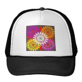 Beautiful HAPPY CHAKRA Sunflower Greetings GIFTS Mesh Hat