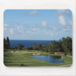 Beautiful Hawaii golf course Mouse Pad