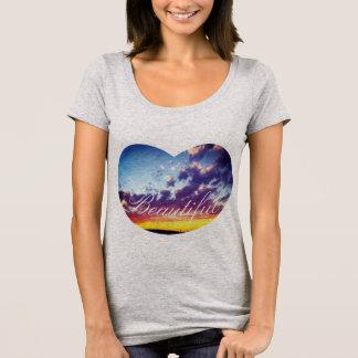 Beautiful Heart Sky T-Shirt