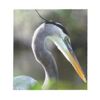Beautiful Heron Notepad