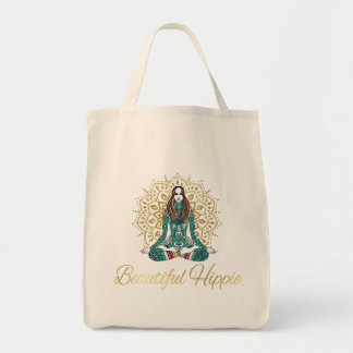 Beautiful Hippie Grocery Tote