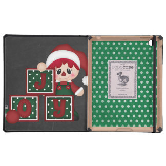 Beautiful Holiday Custom Christmas iPad Folio Case