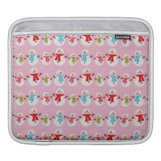 Beautiful Holiday Custom Christmas iPad Sleeve
