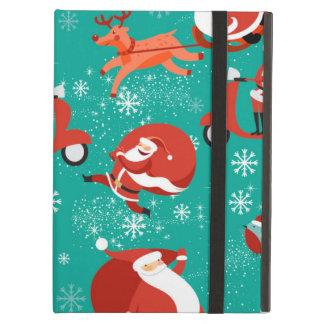 Beautiful Holiday Custom Christmas Santa Case For iPad Air