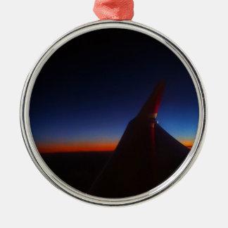Beautiful Horizon Metal Ornament