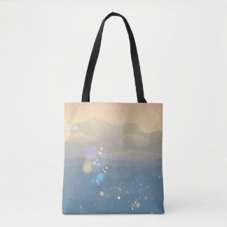 Beautiful horizon tote bag