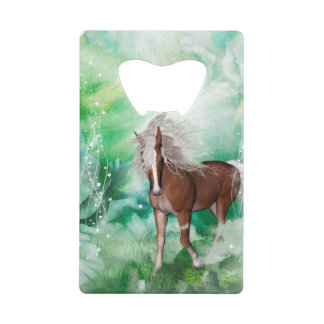 Beautiful horse in wonderland