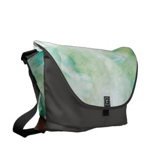 Beautiful horse in wonderland messenger bags