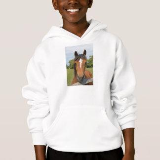 Beautiful horse kids, childrens sweatshirt, gift