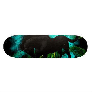 Beautiful horse skateboard