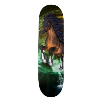 Beautiful horse skateboard decks