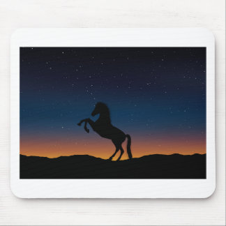 BEAUTIFUL HORSE STALLION MOUSE PAD