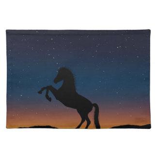 BEAUTIFUL HORSE STALLION PLACEMAT