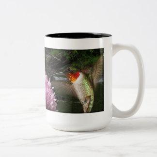 Beautiful Hummingbird Fantasy mug