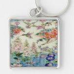 Beautiful Hummingbirds Flowers Stained Glass Art