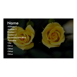 Beautiful Hybrid Tea Rose 'Oregold' Pack Of Standard Business Cards