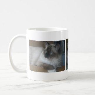 Beautiful Hymalayan Ragdoll Cat Coffee Mug