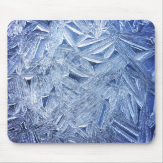 Beautiful Ice Crystals Close-up Mouse Pad