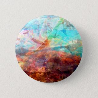 Beautiful Inspiring Underwater Scene Art 6 Cm Round Badge