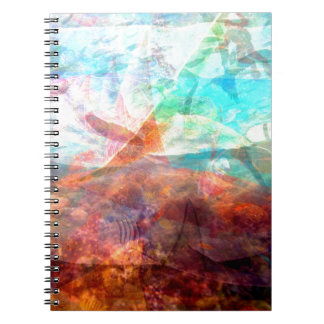 Beautiful Inspiring Underwater Scene Art Notebook