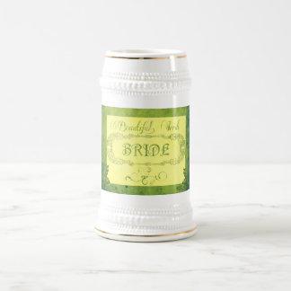 Beautiful Irish bride Beer Steins